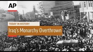 Iraq's Monarchy Overthrown - 1958 | Today In History | 14 July 17