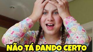 NÃO TÁ DANDO CERTO 😨 (Clipe Oficial) Mileninha - Milena Stepanienco - 10 anos