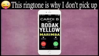 Latest iPhone Ringtone - Bodak Yellow Marimba Remix Ringtone - Cardi B