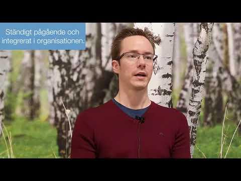 Andreas från ICA i Östersund berättar om vikten av att involvera medarbetarna i miljöarbetet.