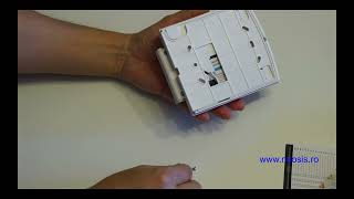 PARADOX K32RF - tastatura radio LED - prezentare - NEOSIS
