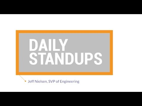 Agile Best Practices: Daily Standups