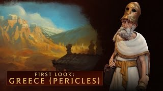 CIVILIZATION VI - First Look: Greece (Pericles)