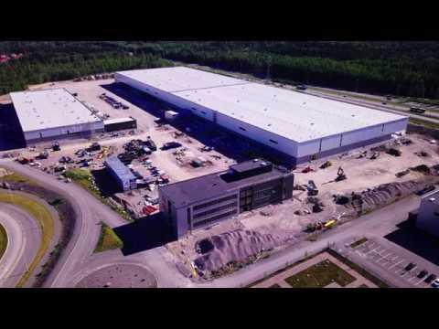 Suomen DSV yhtiöiden uusi logistiikkakeskus Vantaalla