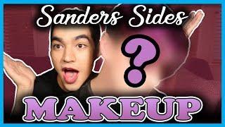 """""""Sanders Sides""""-Inspired MAKEUP ROUTINES!   Thomas Sanders feat. Ben J. Pierce!"""