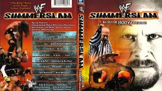 WWE (WWF) Summerslam 1999 Review    An Out of Body Experience    HHH vs. SCSA vs. Mankind width=