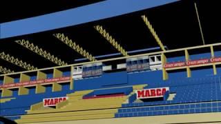 Antiguo Estadio Ramón de Carranza 3D