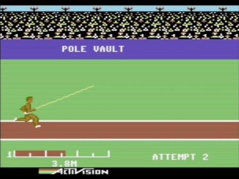 RETROJuegos Clásico /Decathlon © 1984 Activision p/ Commodore 64