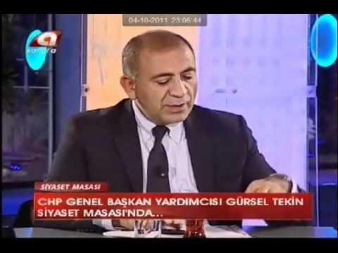 Siyaset Masası - GÜRSEL TEKİN - Öğretmen Atamaları (04.10.2011)