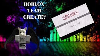 HOW TO DO ROBLOX TEAM CREATE