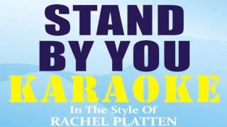 Stand By You [ INSTRUMENTAL - KARAOKE ] In The Style of Rachel Platten