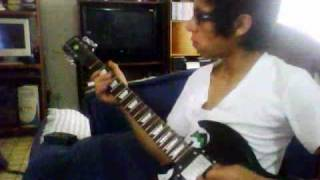 Right side of the bed guitar cover