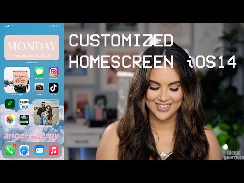 How To Customize Home Screen with iOS14