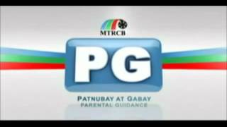 MTRCB Rated PG Graphic HD- ABS-CBN (before E-Boy)