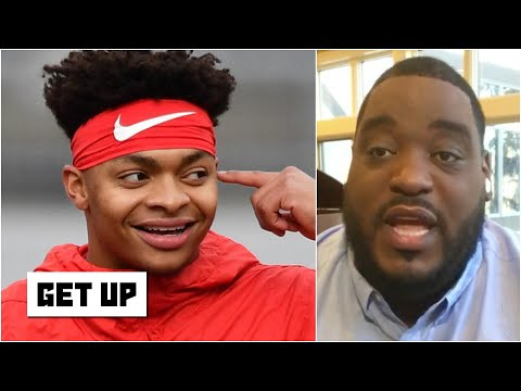 If you ran the Carolina Panthers, would you draft Justin Fields with the 8th pick? | Get Up