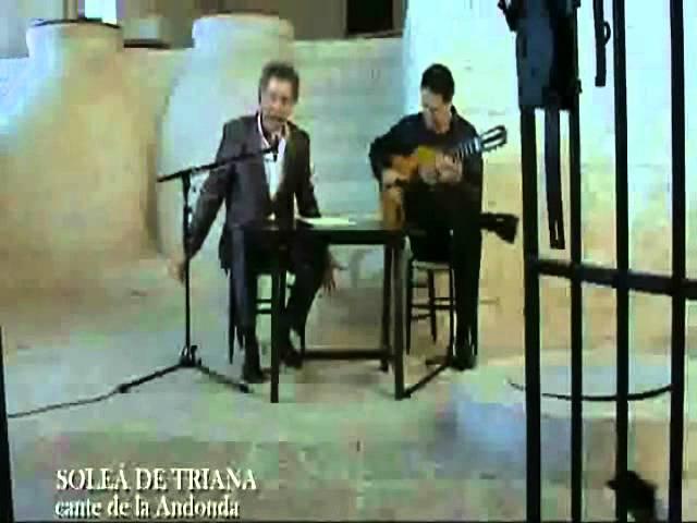 Vídeo del Nene de Santa Fe cantando la Soleá de Triana