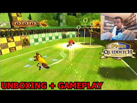 YA ESTÁ AQUÍ!! - QUIDDITCH WORLD CUP (Xbox / PS2 / Gamecube) UNBOXING + GAMEPLAY