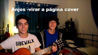 Anjos-Virar a Página cover por Fábio Santos e Nuno Carvalho