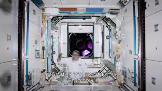 The first chef in space - Starring Haim Cohen