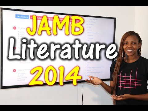 JAMB CBT Literature in English 2014 Past Questions 1 - 16