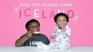 Kids Try Snacks from Iceland | Kids Try | HiHo Kids