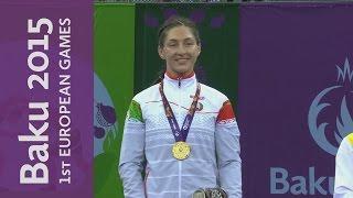 Vasilisa Marzaliuk wins Gold for Belarus | Wrestling | Baku 2015 European Games width=