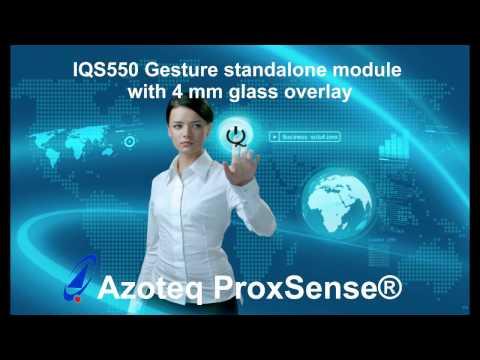 Azoteq's IQS550 Gesture standalone module