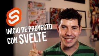 Crea un nuevo proyecto con Svelte 3