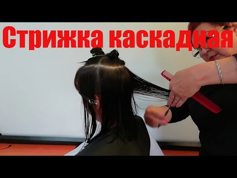 Стрижка Каскад на среднюю длину волос photo