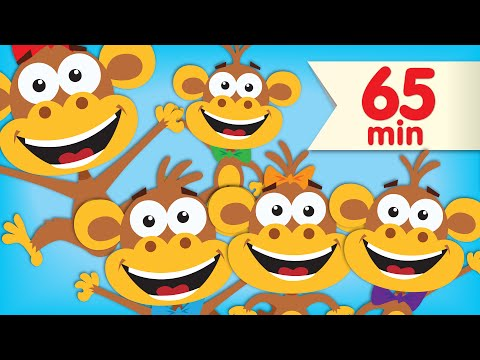 Five Little Monkeys | + More Super Simple Songs & Nursery Rhymes - YouTube