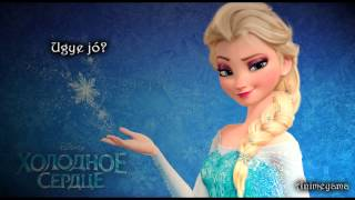♫ Jégvarázs - Legyen hó Karaoke / Frozen- Let it go hungarian karaoke