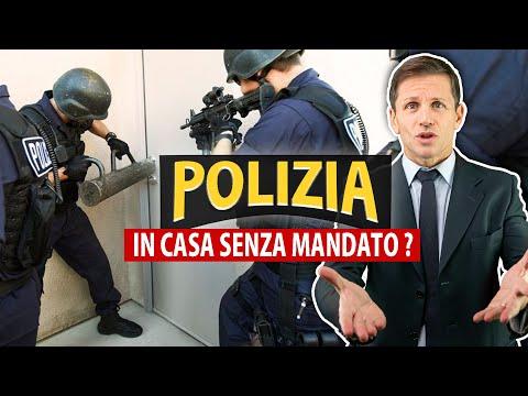 La POLIZIA può entrare in casa SENZA MANDATO? | Avv. Angelo Greco