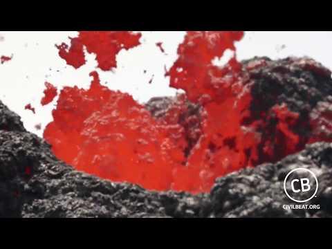 Fascinație și pericol. Vulcanul Kilauea din Hawaii în timpul erupției