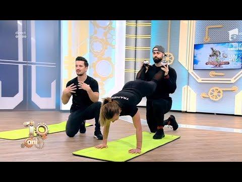 Exerciții fizice care îți condimentează viața de cuplu