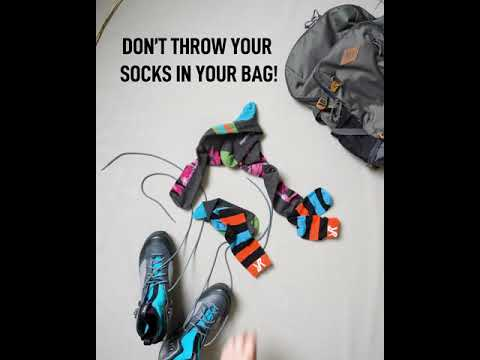 Packing Tip - Store Your Socks In The Shoes!