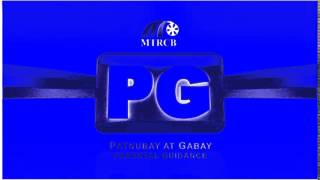 MTRCB Rated PG Advisory (Parental Guidance) In BlueChorded