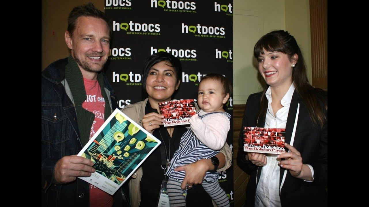 KATIE CHATS: hotDOCS, VIOLETA AYALA & DAN FALLSHAW, FILMMAKERS, THE BOLIVIAN CASE