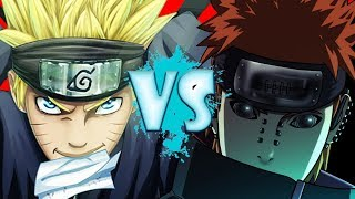 Naruto VS. Pain | Duelo Narrado