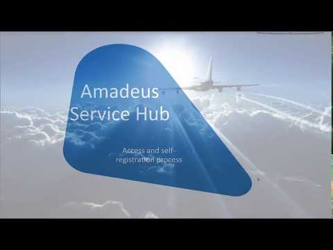 Amadeus Service Hub Access and Self Registration