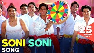 Soni Soni Song | Mohabbatein | Shah Rukh Khan | Uday Chopra | Jugal Hansraj | Jimmy Shergill width=