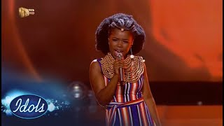 Top 10: Yanga - 'Amazulu' - Idols SA | Mzansi Magic