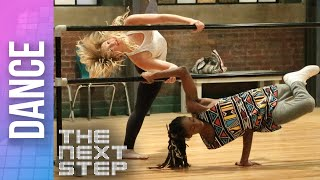"""The Next Step - Deleted Dance: Michelle & Henry """"Slow Motion"""" Duet (Season 4)"""