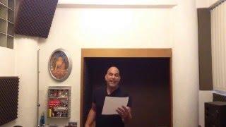 Cantante original de Dragon Ball GT en Latino - Aarón Montalvo - Mi corazón encantado - 2016
