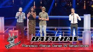 Francisco, Márcia e Daniel VS Sérgio Alves - Clown | Batalhas | The Voice Portugal