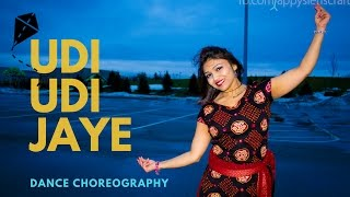 Udi Udi Jaye Bollywood dance|choreography Garba  easy|Raees|srk|Official BEST video|Drashti Pandit|