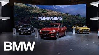 BMW al Salone di Ginevra 2018.