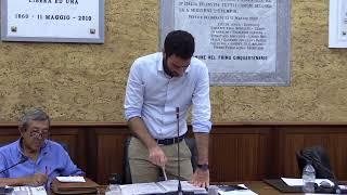 Consiglio Comunale di Marsala del 26/08/2021