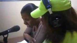 Interview Kaysha @ radio Mozambique