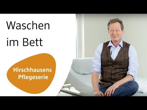 alverde Magazin - Wie kann ich meinen Angehörigen im Bett waschen? | Hirschhausens Pflegeserie