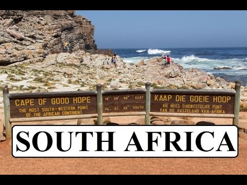 South Africa/Cape Town (Cape Point,Table Mountain)  Part 1